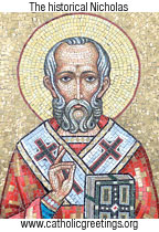 "St Nicholas: the original ""Santa"""
