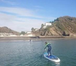 Paddle-boarding fun for kids