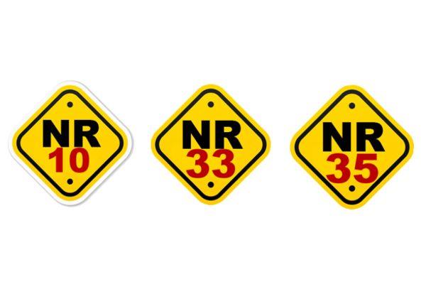 Cursos de Capacitação NR10, NR33 E NR35