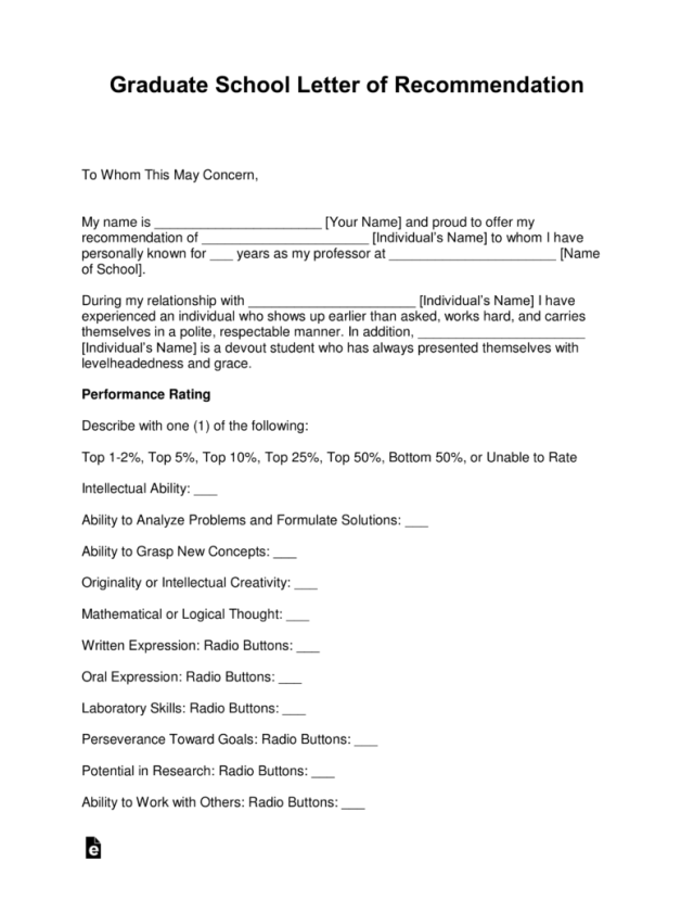 Reference Letter For A College Student