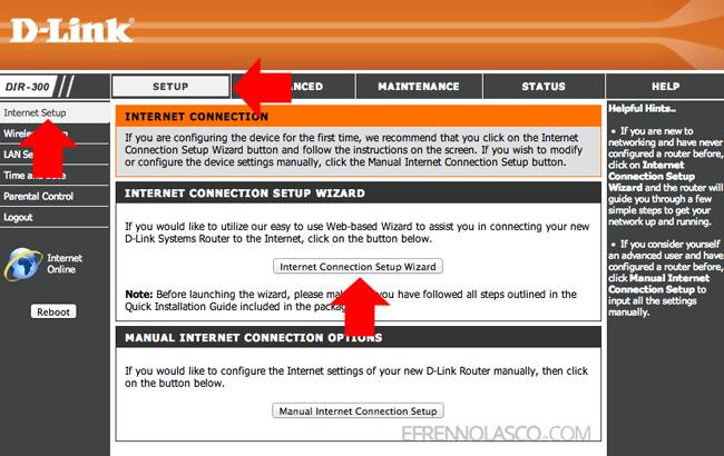 D Link Router Setup Step 2