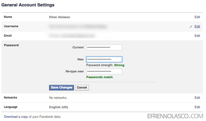 how-to-change-facebook-password-step-3
