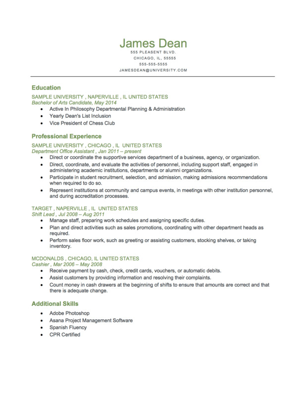Chronological-Resume