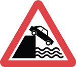 River ahead of road