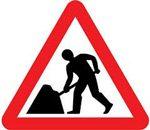 Road Construction traffic Sign