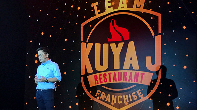 Winglip Chang talks about starting your own Kuya J restaurant through their financing