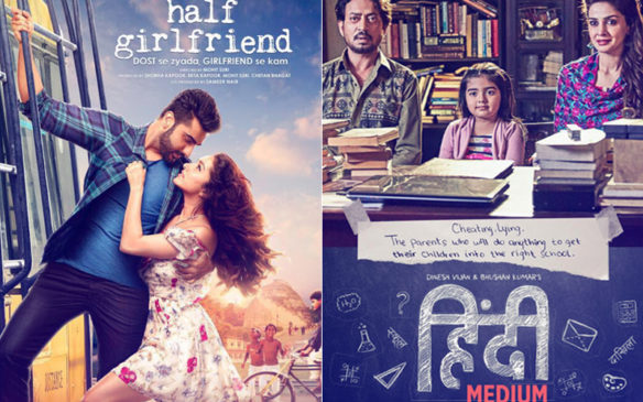Half Girlfriend Vs Hindi Medium First Day Box Office Collection