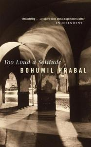 book cover: too loud a solitude