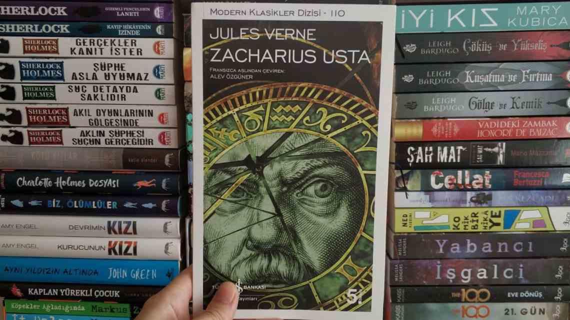 Zacharius Usta Kitap Yorumu | Jules Verne