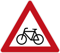 (beware of cycles sign)