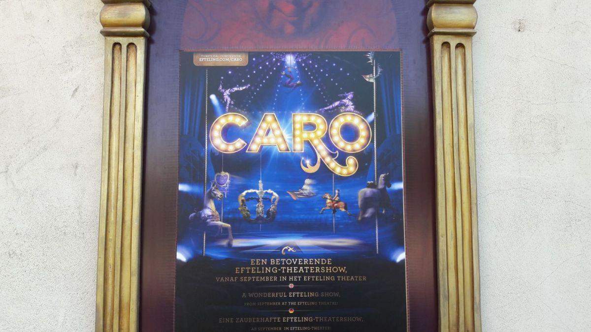 Theatershow CARO voor meerdere jaren gepland