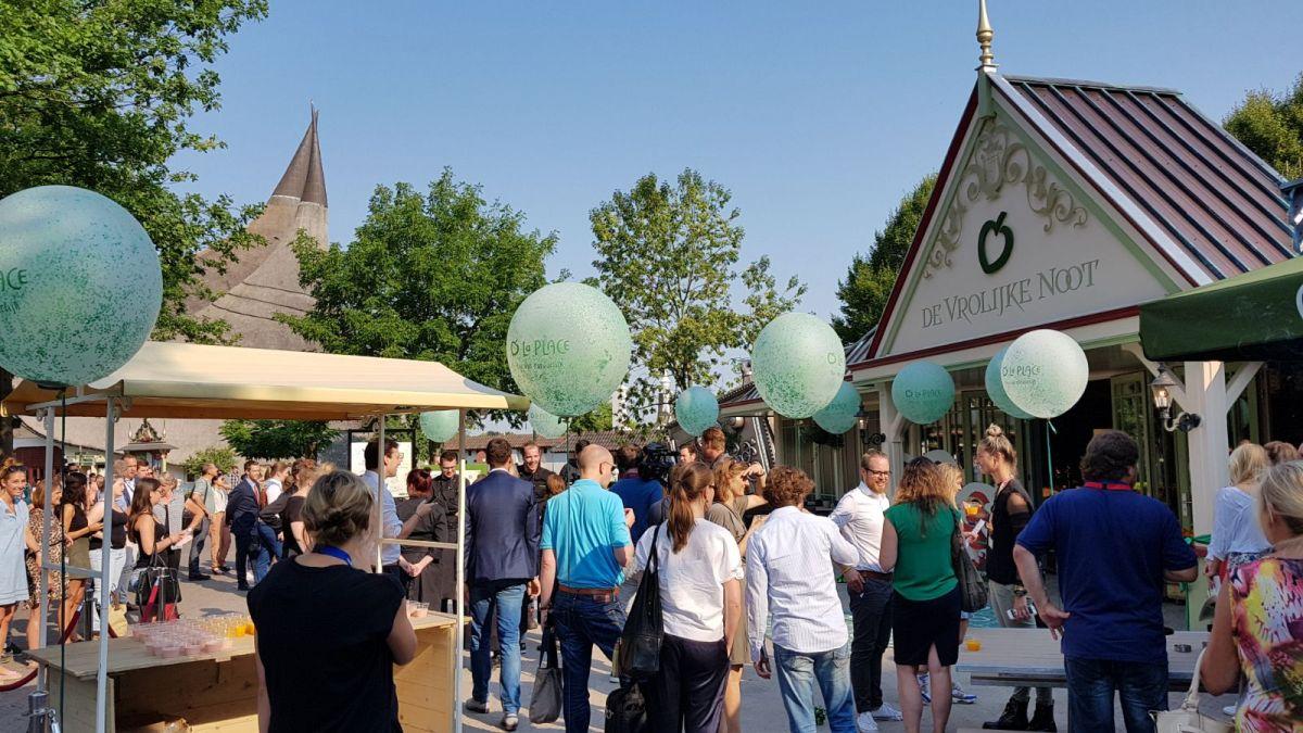 Foto's: La Place in de Efteling geopend voor bezoekers