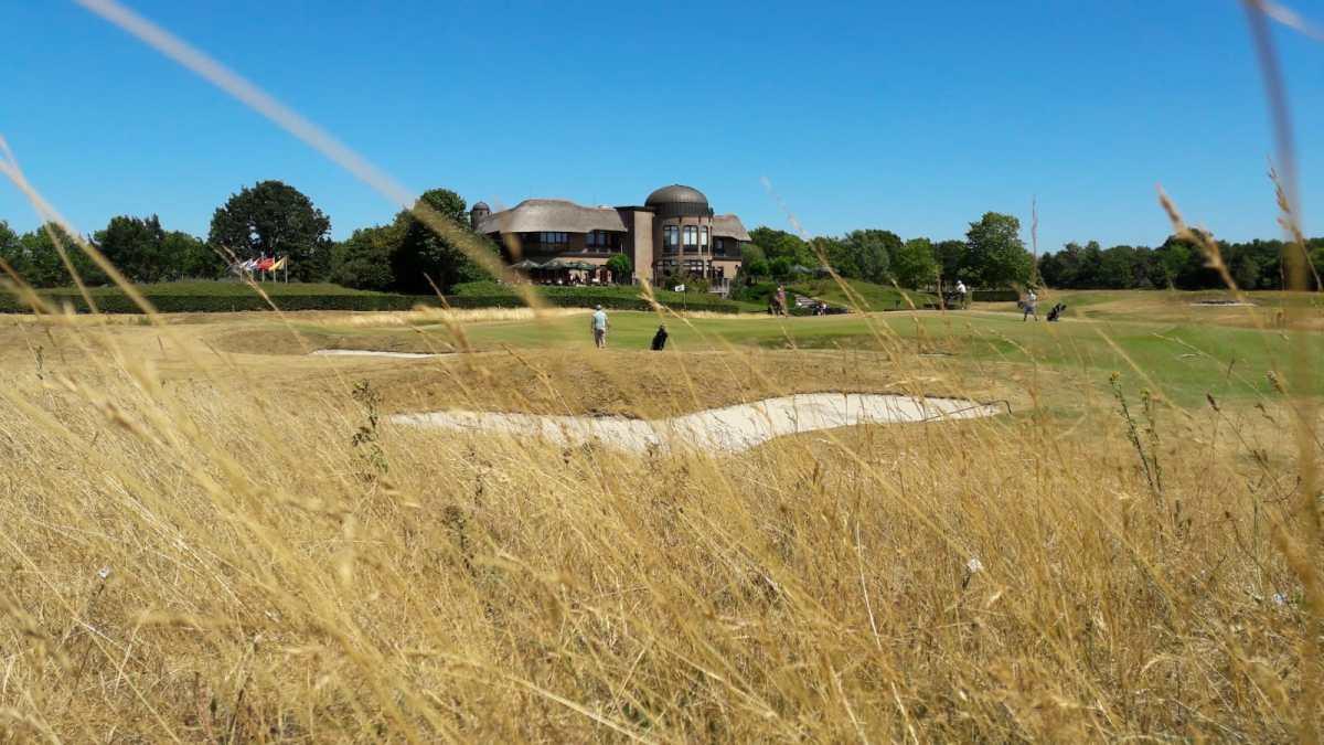 Extreme droogte treft het Efteling Golfpark