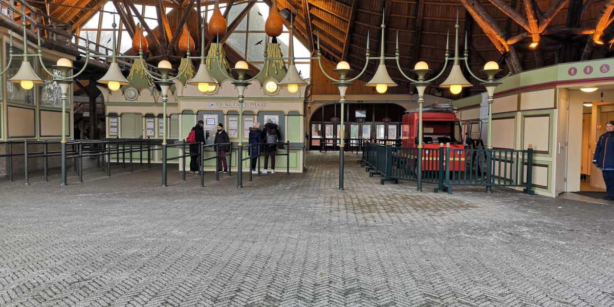 Foto's: Efteling verwijdert kassablokken