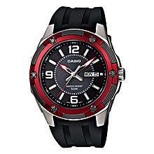 MTP-1327-1A Rubber Watch - Black