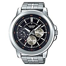 MTP-X300D-1A Stainless Steel Watch - Silver