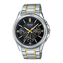 MTP-1375SG-1AVDF Stainless Steel Watch - Silver/Gold