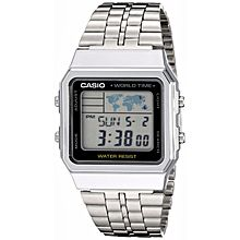 A500WA-1D Stainless Steel Watch - Silver
