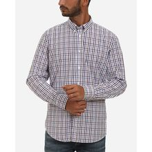 Plaids Casual Shirt - Lavender & White
