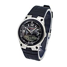 AW-80-1A2 Resin Watch - Black