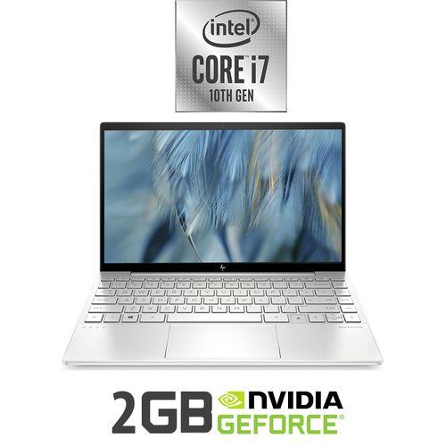 Envy 13-ba0012ne Laptop - Intel Core I7 - 16GB RAM - 512GB SSD - 13.3-inch FHD - 2GB GPU - Windows 10 - Natural Silver