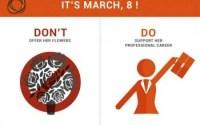 8 mars - égalité femmes hommes