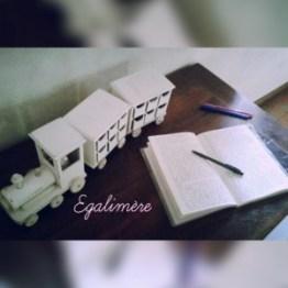 Train de l'écriture