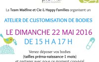 Atelier customisation chez Happy Families pour la participation au Silent Sunday 18