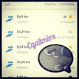 Running - Egalimère