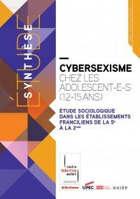 stopcybersexisme - étude - centre hubertine auclert