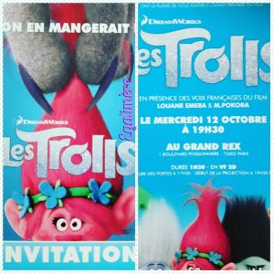 Invitation avant première les trolls - Egalimère
