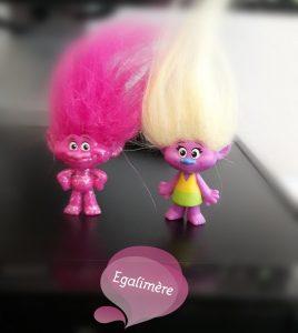 Figurines les trolls - avant première avec M.Pokora et Louane - Egalimère
