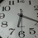 Décennie - temps qui passe - horloge