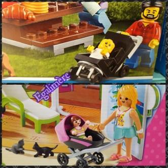 Playmobil VS Lego - stéréotypes dans les jouets - les services à la personne