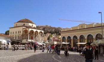 Athènes marché aux puces de Monastiraki