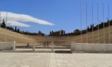 Athènes stade des Panathénées