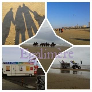 Hollande plage de Zandvoort