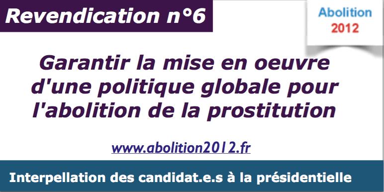 Prostitution : les prochain.e.s élu.es devront garantir la politique abolitionniste