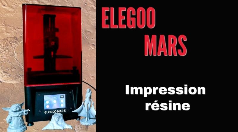 Mon Elegoo Mars