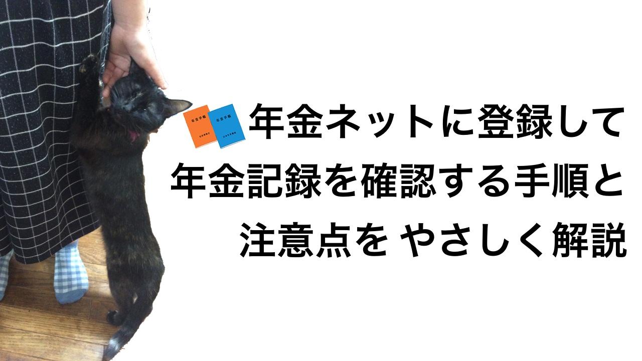 ねんきんネットの新規登録手順