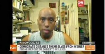 Egberto on CNN on Anthony Weiner Internet Scandal