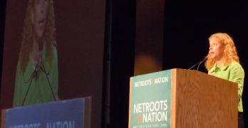 Democratic Chairwoman Debbie Wasserman Schultz At Netroots Nation 2011