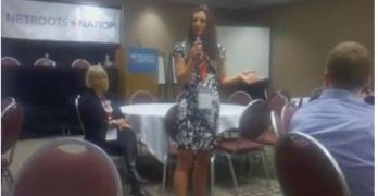 Congress Krystal Ball Telling Her Story of Sexism At Netroots Nation (VIDEO)