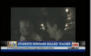 CNN Airs Kingwood High School Beloved Teacher Being Serenaded By Students