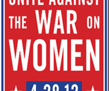 Press release from War on Women Rally, Houston Organizers