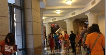 War On Women at Texas Capitol