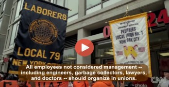 Middle Class Revival Demands All Workers Be In A Union (VIDEO)