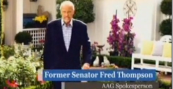 Fred Thompson Reverse Mortgage