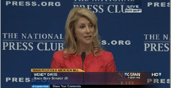 Wendy Davis At The National Press Club