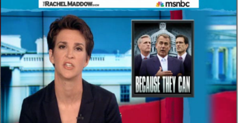 Rachel Maddow Government Shutdown